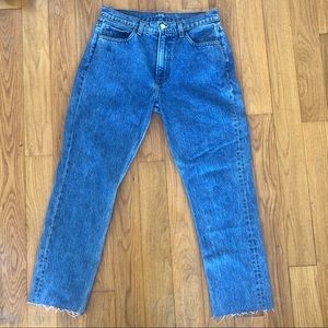Reformation high waisted jeans